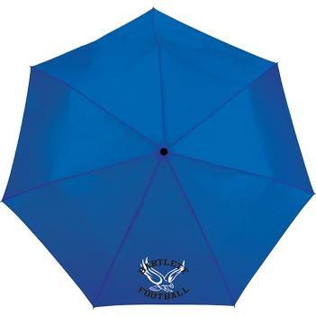 "44"" totes 3 Section Auto Open/Close Umbrella - Outdoor Sports Survival"
