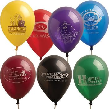 "11"" Luminous Latex Balloons - Puzzles, Toys & Games"