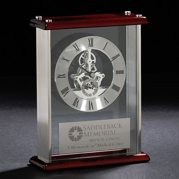 Framework Clock - Awards Motivation Gifts