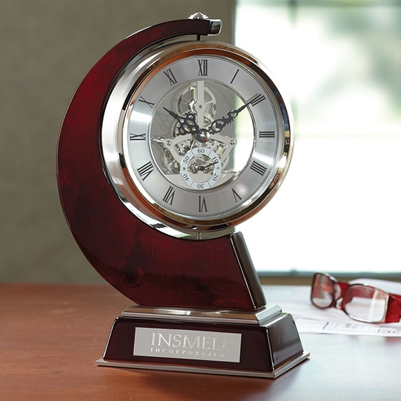 Swerve Skeleton Clock - Awards Motivation Gifts
