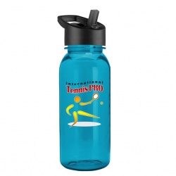 FullColor 18 oz. Tritan Bottle with Flip Straw