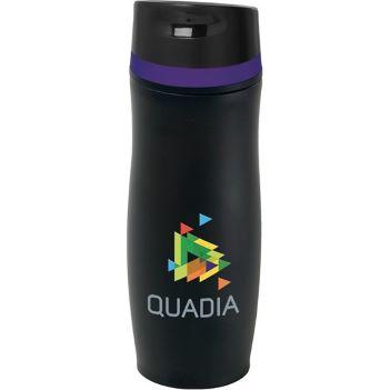 14 Oz. Persona Wave Vacuum Tumbler - Mugs Drinkware