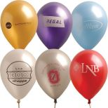 9 Pearlized Natural Latex Balloon