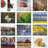 2018 The Old Farmer's Almanac Country Wall Calendar - Spiral