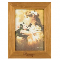 Bamboo Picture Frame for 5 X 7 Photo