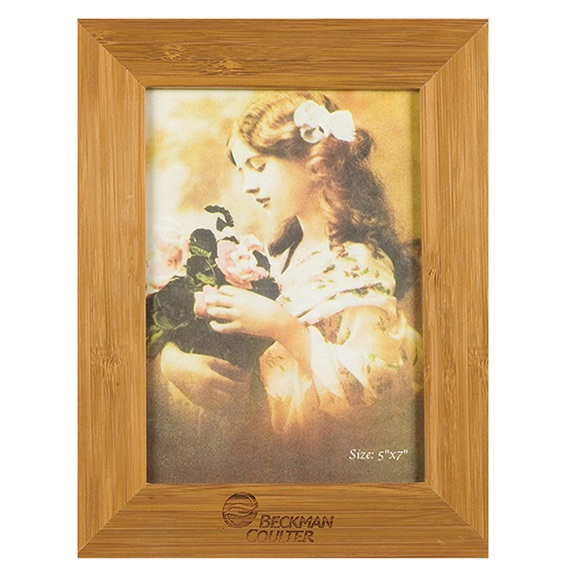 Bamboo Picture Frame for 5 X 7 Photo - Kitchen & Home Items