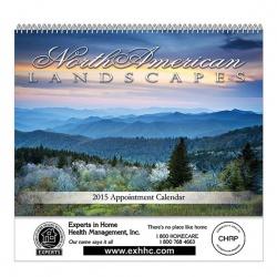 Landscapes Spiral Bound Wall Calendar