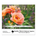 Gardens Stapled Wall Calendar