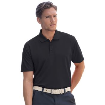 Vansport Omega Solid Mesh Tech Polo - Apparel