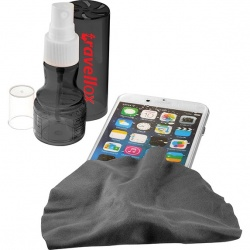 Liquid Screen Cleaner and Microfiber Cloth Duo