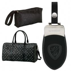 Black Lamborghini Duffel Bag
