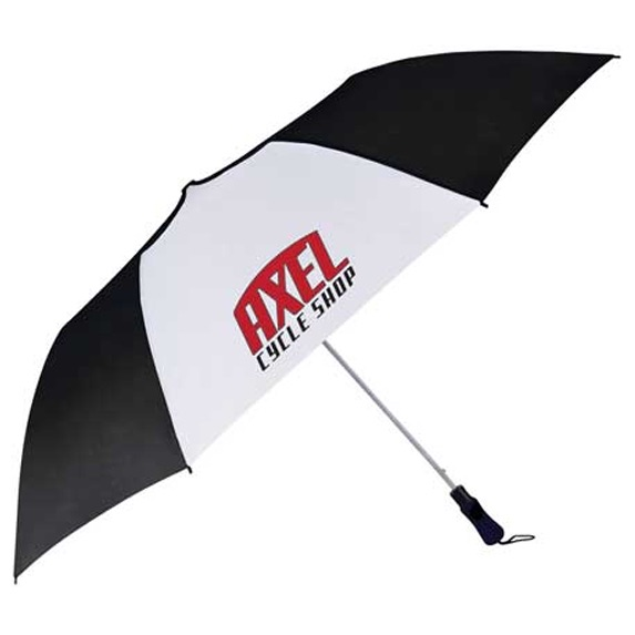 "55"" Auto Open Folding Golf Umbrella - Outdoor Sports Survival"
