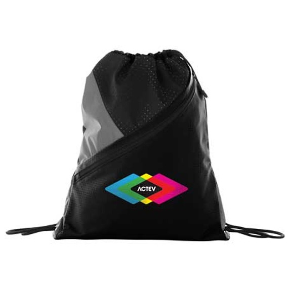 Slazenger Competition Zip Drawstring Sportspack - Bags