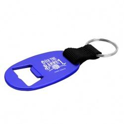 Oval Bottle Opener Key Ring