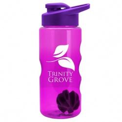 22 oz. Shaker Bottle with Drink-Thru Lid