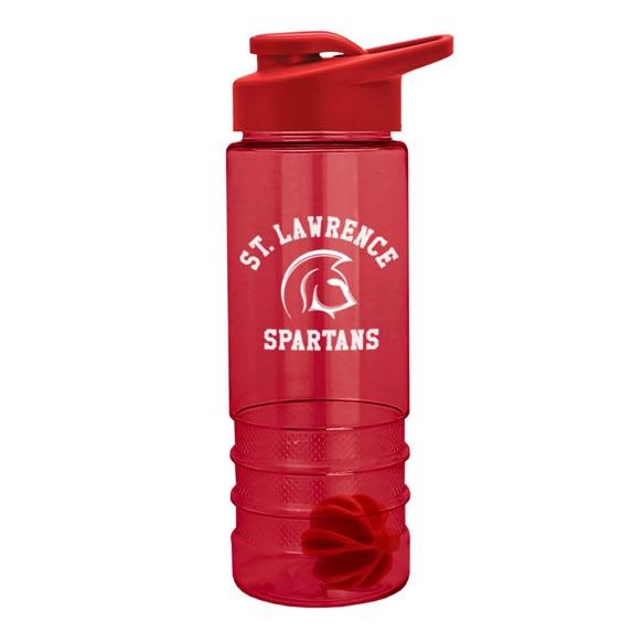 24 oz Tritan Salute Shaker Bottle - Mugs Drinkware