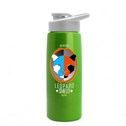 26 oz. Digital Metallic Flair Bottle with Snap Lid