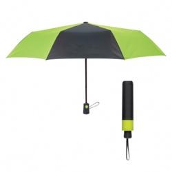 43 Arc Duet Colors Telescopic Folding Umbrella