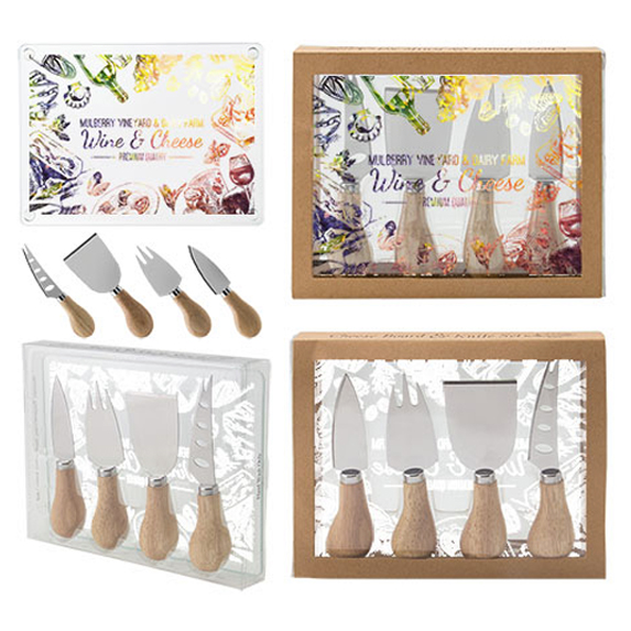 Cheese Board & Knife Set - Kitchen & Home Items