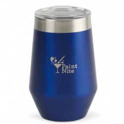 Aviana Vine Double Wall Stainless Wine Tumbler - 12 Oz.
