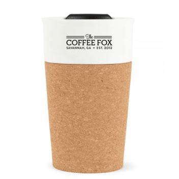 Sintra Cork Porcelain Tumbler - 9 Oz. - Mugs Drinkware