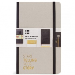Moleskine Time Collection Ruled Notebook