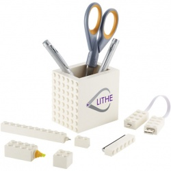 5-in-1 Desk Set with MFI Certified Cable