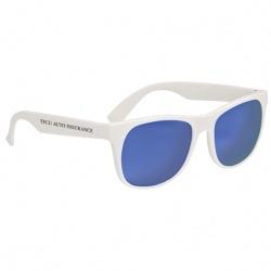 Rubberized Mirrored Sunglasses