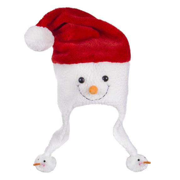 Snowman Santa Hat - Apparel