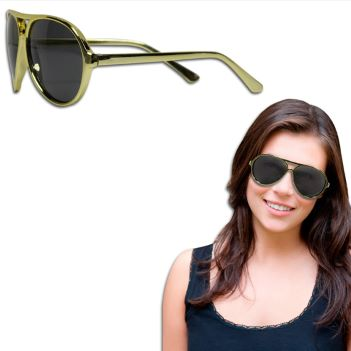 Plastic Frame Aviator Sunglasses - Outdoor Sports Survival