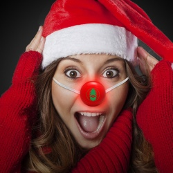Red LED Nose