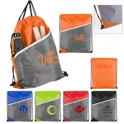 Contrast Cinch Bag