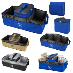 Collapsible 2-In-1 Trunk Organizer/Cooler