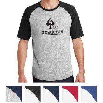 Sport-Tek Short Sleeve Colorblock Raglan Jersey - Apparel