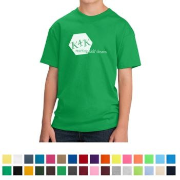 Port & Company Youth Core Cotton T-Shirt - Apparel