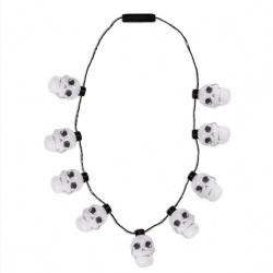 LED Skull Necklace