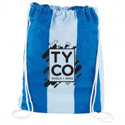 Microfiber Beach Blanket with Drawstring Pouch