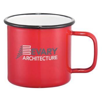 Enamel Metal Cup 16oz - Mugs Drinkware
