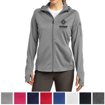 Sport-Tek Ladies Tech Fleece Full-Zip Hooded Jacket - Apparel