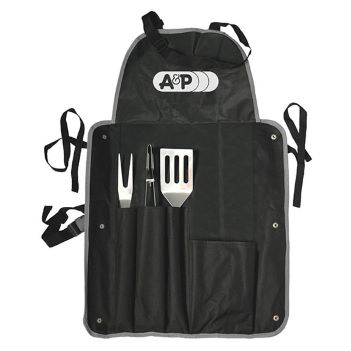 4 Piece BBQ Apron Set - Outdoor Sports Survival