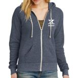 Alternative Ladies' Adrian Eco Fleece Full-Zip Hoodie