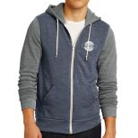 Alternative Men's Colorblock Rocky Eco Fleece Full-Zip Hoodie