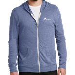 Alternative Men's Eco Jersey Full-Zip Hoodie