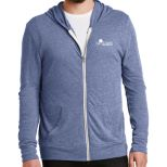Alternative Men's Eco Jersey Full-Zip Hoodie