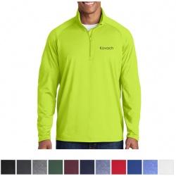 Sport-Tek Sport-Wick Stretch Half-Zip Pullover