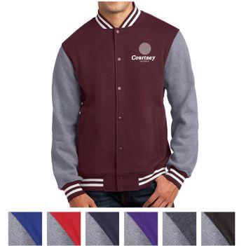 Sport-Tek Fleece Letterman Jacket - Apparel
