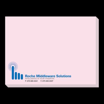 "4"" x 3"", 50 Sheet Adhesive Color Notes - Awards Motivation Gifts"