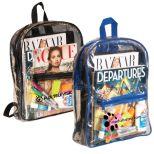 Liberty Clear PVC Backpack