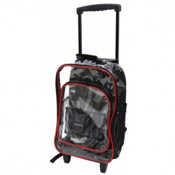 Clear Rolling Backpack