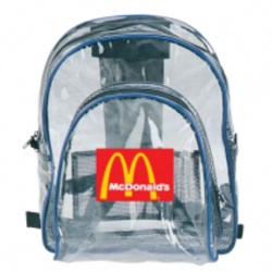 Clear Backpack with Organizer